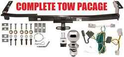 Complete Trailer Hitch Receiver Tow Package Class 2 Fast Shipp No Drill