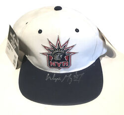 Wayne Gretzky Signed New York Rangers liberty Hat Uda Coa  199 Upper Deck Auto