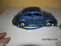 Vintage Car Volkswagen Tin Battery Made In Japan Japanese Minty Old Toy Antique