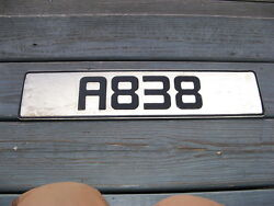 Ascension Island License Plate Tag South Atlantic Ocean Very Rare A838