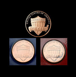 2013 P+d+s Lincoln Shield Penny Mint Proof Set Pd In Original Mint Wrappers
