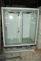 Gs Laboratory Equipment Revco Reach In Double Glass Door Refrigerator Rec4504a18