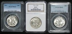 1941 Set P D And S Pcgs And Ngc Grades Ms 65 And 67