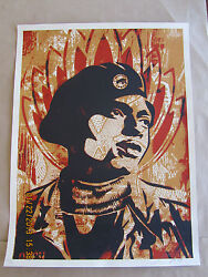 Black Panther /300 2004 Shepard Fairey Print Obey Giant Rare Marvel Comic Poster