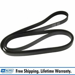 Ac Delco 6k825 Serpentine Belt Accessory Belt For Cadillac Chevy Ford Jeep Dodge