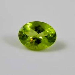 Masterpiece Collection Peridot Natural Apple Green Oval Faceted 5x3 - 10x8mm