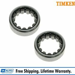 Timken Axle Shaft Bearing Rear Pair For Gm Dodge Ford Jeep With 8.75 Ring Gear