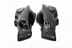 Bmw K1200r Air Ram Duct Intake Covers - Front Side Fairings Carbon Fiber