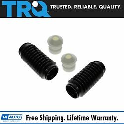Trq Shock Strut Boot Bellow And Bumper Kit Pair Of 2 For Dodge Chrysler Lexus Kia