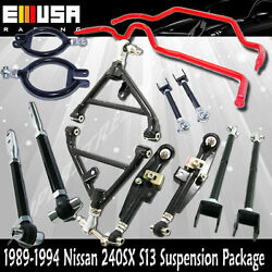 For 240sx S13 Suspension Control Arm /toe Arm /tension Rod/traction Rod/swaybar