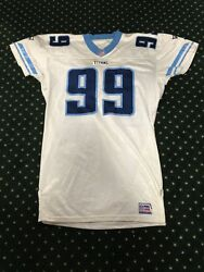 1999 Tennessee Titans Game Issued Tagged Proline Prototype Jersey Sz 48 Plus 4