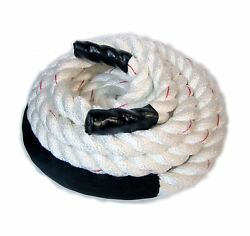 Crossfit Rope, 2 X 30' Polydac Fitness, Exercise And Undulation Rope