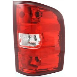 Tail Light For 2007-2013 Chevrolet Silverado 1500 And 07-10 Silverado 2500 Hd Rh