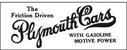 C015 Plymouth Cars Automobile Car Truck Antique Vehicle Banner Garage Signs