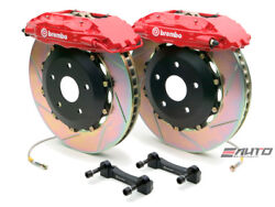 Brembo Front GT Brake 4pot Caliper Red 355x32 Slot Disc for G35 350Z Fairlady