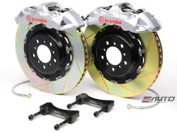 Brembo Front GT Brake 6pot Caliper Silver 380x32 Slot for G35 350Z Fairlady Z33