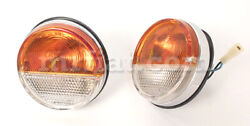 Fiat Dino Spider Rear Lamps Set