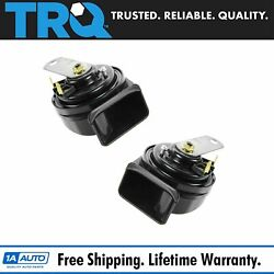 Trq High And Low Tone Horn Pair For Chrysler Honda Ford Toyota Pickup Truck