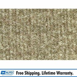 For 1984-91 Jeep Grand Wagoneer Cutpile 1251-almond Complete Carpet Molded