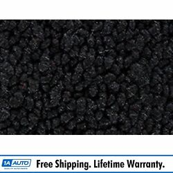 For 64 Chevy Corvette Cut And Sewn 80/20 Loop 01-black Passenger Area Carpet Front