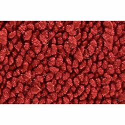 For 1968 Chevy Corvette With Padding 80/20 Loop 02-red Complete Carpet Molded