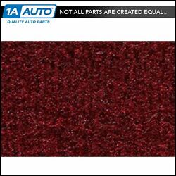 For 1977-79 Ford Thunderbird 2 Door Cutpile 825-maroon Complete Carpet Molded