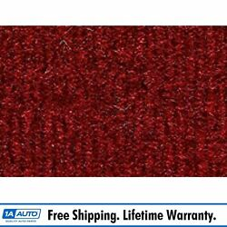 For 1985-86 Chevy Blazer Full Size Cutpile 4305-oxblood Complete Carpet Molded