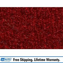 For 1980-86 Ford Bronco Cutpile 815-red Complete Carpet Molded
