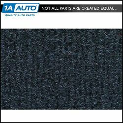 For 1974-83 Jeep Cherokee Cutpile 840-navy Blue Complete Carpet Molded
