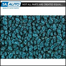 For 1972 Chevy Kingswood 80/20 Loop 17-bright Blue Complete Carpet Molded