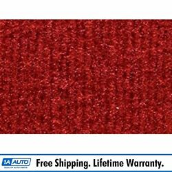 For 1978-79 Ford Bronco Cutpile 8801-flame Red Complete Carpet Molded