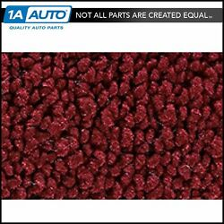 For 71-73 Ford Country Squire 4 Door 80/20 Loop 13-maroon Complete Carpet Molded