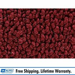 For 65-68 Ford Country Squire 4 Door 80/20 Loop 13-maroon Complete Carpet Molded