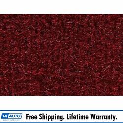For 1981-97 Lincoln Town Car 4 Door Cutpile 825-maroon Complete Carpet Molded