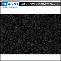 For 1964 Chevy Corvette Coupe Cut And Sewn 80/20 Loop 01-black Cargo Area Carpet