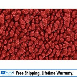 For 71-73 Cadillac Fleetwood Limousine 80/20 Loop 02-red Complete Carpet Molded