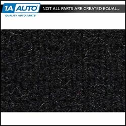 For 1992-99 Olds 88 4 Door With Console Cutpile 801-black Complete Carpet Molded