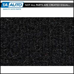 For 1983-89 Ford Mustang Convertible Cutpile 801-black Complete Carpet Molded