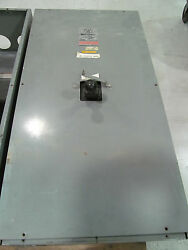 Westinghouse 1200 Amp Circuit Breaker Enclosure With Nc31200f With 900 Amp Trip