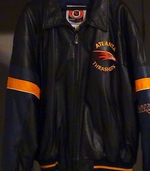 Leather Atlanta Thrasher Jacket By G-iii And Carl Banks Leather Fashions
