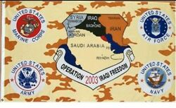 Operation Iraqi Freedom Flag 3x5 New Polyester Desert Storm Fade Resistant