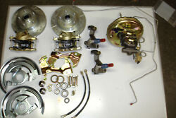1967 1968 1969 Chevrolet Camaro Power Brake Conversion Front And Rear 11 Chrome