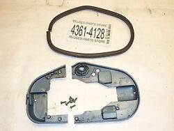 1957 Evinrude 5.5hp 5514 Outboard Motor Lower Cowl Shroud