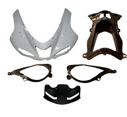 Abs Unpainted Upper Fairing Nose Front Fit For Kawasaki Ninja Zx-6r 2007 2008 08