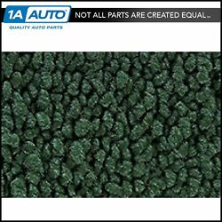 For 71-73 Charger W/ Bucket Seats And Console 08-dark Green Carpet 4 Spd Man Trans
