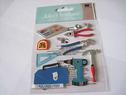 Scrapbooking Stickers Joleeand039s Tools Tool Box Hammer Wrench Drill Nuts Bolts More