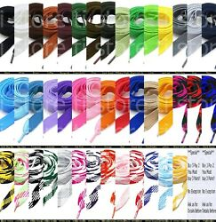 Fat Shoelaces Thick Flat 34
