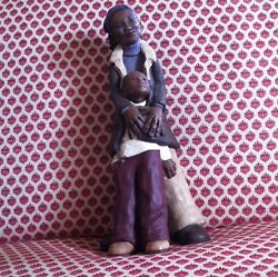 Willitts Mother And Son Figurine One Of A Kind Nice Detailed Sc 06
