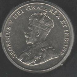 1931 ABOUT UNCIRCULATED Canadian Nickel #1