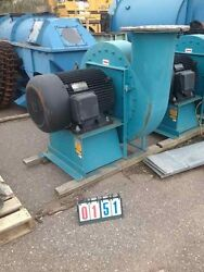 New Never Used Twin City Backward Incline Blower Fan With a 125 HP Fan
